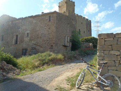 Trail bike in Cervera