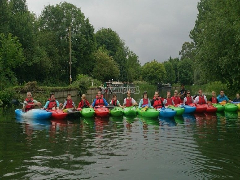 Try our paddling session on a Saturday morning