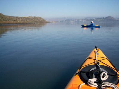 Canoeing ride for students in Punta Umbria