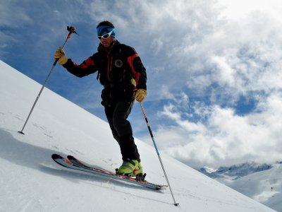 Mountain ski course, Astún, 2 days