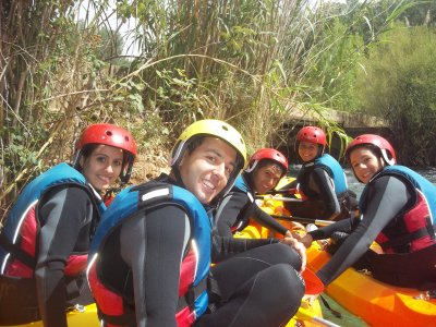 Multi-adventure school trip Júcar Valley 5 days