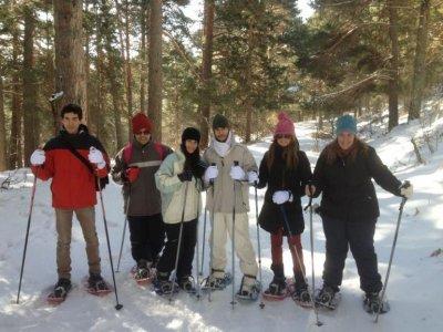 2-Hour Snowshoeing in Cercedilla