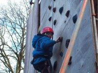 Try indoor or outdoor climbing as well.