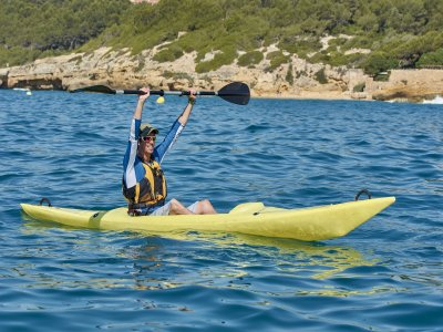Guided kayak route in Altafulla 1/2 day