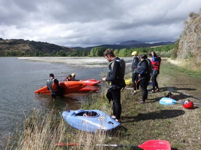 8 days canoeing guide course, Salamanca