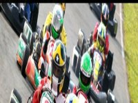 On the karting racetrack