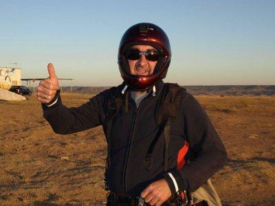 15 min tandem paramotoring in Madrid