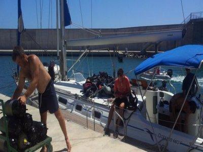 Cruise by vessel Murcia + diving, weekend