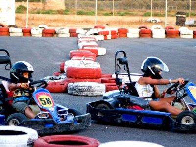 Go-kart race in Cartagena 8 minutes