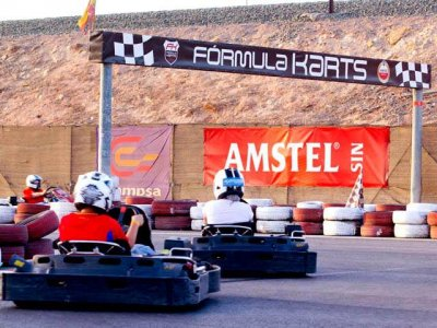 Qualification and Go-kart race in Cartagena