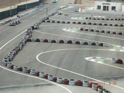 Children Go-karting race in Cartagena