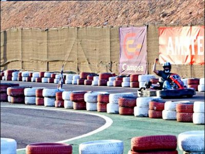 Two seater Go-kart race in Cartagena