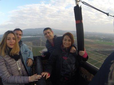 Hot-Air balloon flight in Murcia