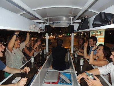 Beer Bike Seville with sangria, 60 minutes
