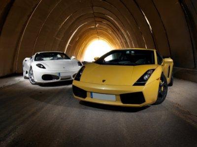 Ferrari or Lamborghini + Hotel La Cabrera Madrid