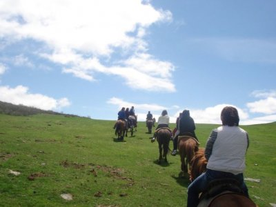 All Day Horseback Rivers & Lakes route Asturias