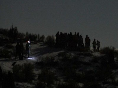 Snowshoes Night Route, San Isidro, 3 hours