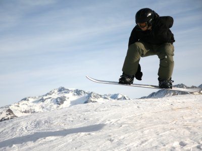 2 Days Backcountry Freestyle Snowboarding