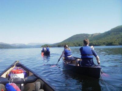 River Deep Mountain High Canoeing