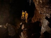 Caving with Swaledale Outdoor Club.