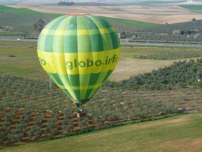 Balloon Flight Sevilla for couples and Free Cava