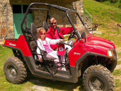 Two seater buggy route in Andorra for one hour