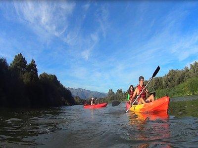 2h Kayak descent river Tietar + photo
