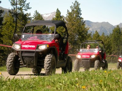 Driving a buggy in Andorra for 2 hours