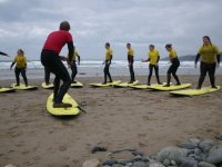 Surfing tuition
