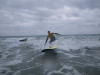 We will show you how to stand up successfully and ride the waves