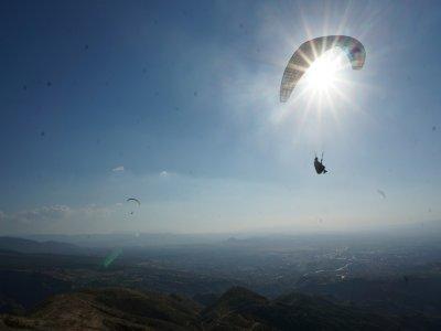 Paragliding in Sierra Nevada