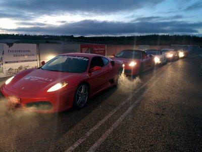 Drive a Ferrari F430 on the road, 23 km Valencia