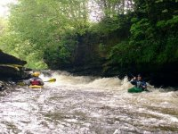 White water kayaking with Swaledale Outdoor Club.