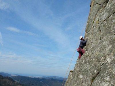 Rock climbing course for beginners Coruña