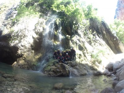 Canyoning Bolera reservoir, Jaen