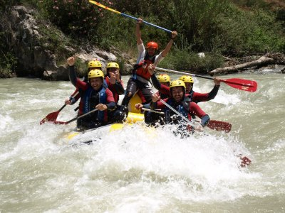 4h rafting in Genil river