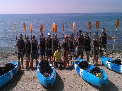 Kayaking tour by La Herradura beach