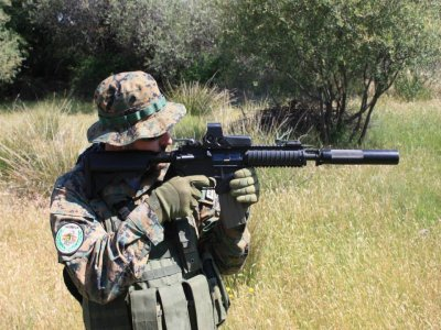 Airsoft installations renting Madrid with material