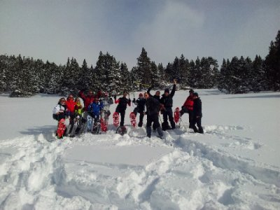 Snowshoes Bejar, accommodation & lunch