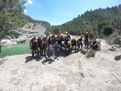 Canyoning and kayak excursion, La Bolera reservoir