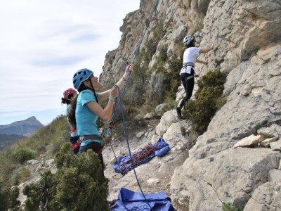 2 days climbing course in Alicante