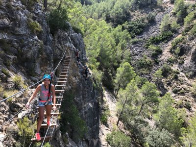 Initiation to Via Ferrata, Valencia or Alicante