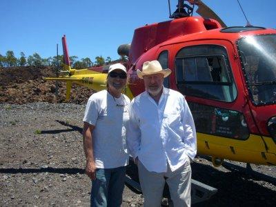 Private helicoper ride, Tenerife Sur airport