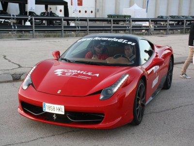 Driving Ferrari and Lamborghini, Cheste Circuit