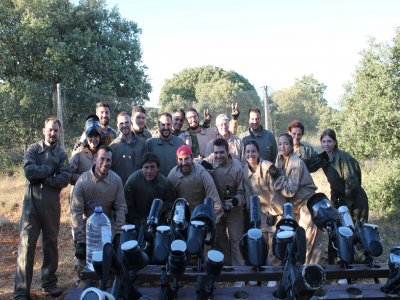 Paintball, 200 balls in Cuenca for companies