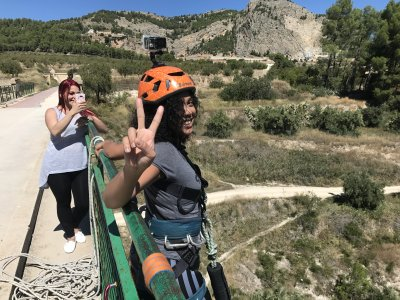 Bungee Jumping in Alicante + Free Video, 50 Metres