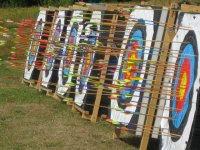 Olympic size archery targets