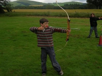 Scottish Outdoor Education Centre Broomlee Archery