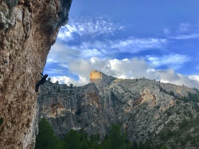 Sports climbing for beginners in in Alicante