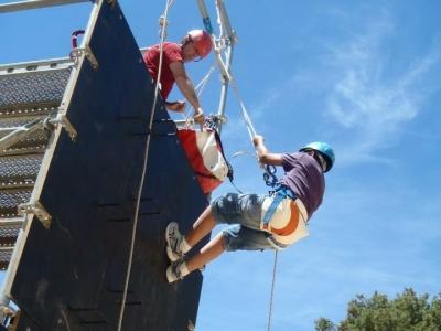 Adventure park for schools in Benilloba
